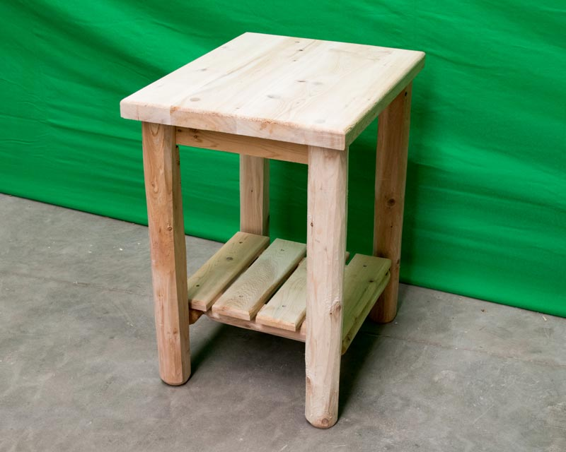 Norther White Cedar End Table