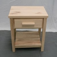 Unfinished Farmhouse Nightstand
