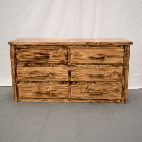 6 Drawer Farmhouse Dresser